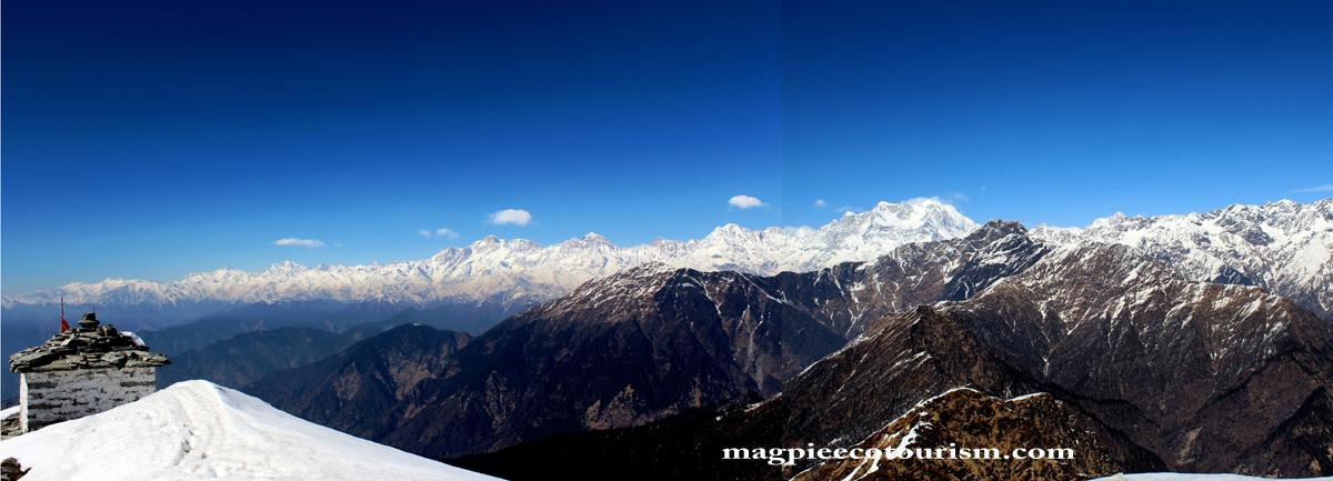 Chandrashila Trek - Chopta -Tungnath Chandrashila summit Trek