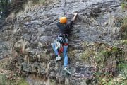 Rock Climbing Activity at Duggle Bittha Chopta - By Magpie Camp Chopta