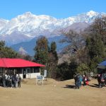 The View describing the beauty of Magpie Camp Chopta